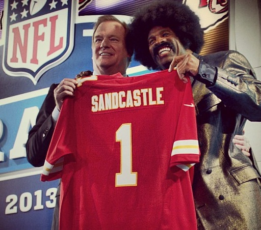Forget Richard Sherman, Leon Sandcastle Gets Thrown Into The Debate