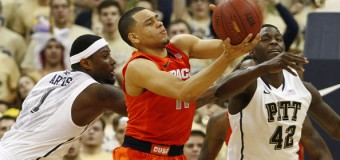 Pitt Fan Charged With Assault After Punching Syracuse Guard Tyler Ennis