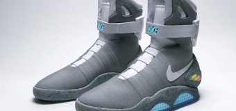 Nike Unveils 'Back To The Future' Power Lace Shoes For 2015