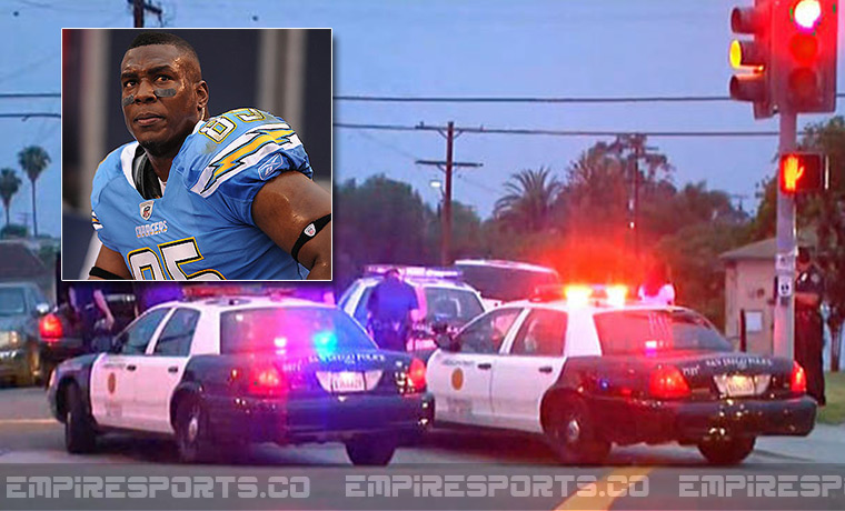 San Diego Charger Antonio Gates Involved In High Speed