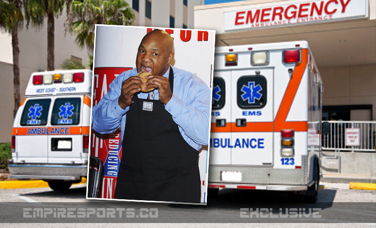 empire-sports-george-foreman-overdose-food-grill-emergency-trauma-hospital
