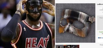 Lebron James' Black Mask Stolen, Sold On eBay For $50,000