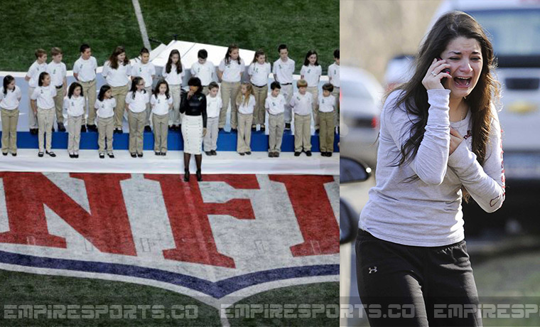 sandy hook hoax super bowl The chorus from sandy hook elementary school will sing 'america the beautiful' before sunday's super bowl between the san francisco 49ers and the baltimore ravens, the associated press reported.