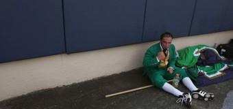 Notre Dame Kidnaps Midget; Forces Him To Dress Like A Leprechaun