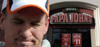 Peyton Manning Arrested At Papa John's; Stoned Out Of His Mind