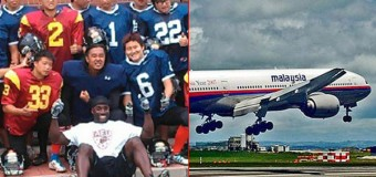 BREAKING NEWS:  NFL Expansion Team Players Among Missing Aboard Flight 370