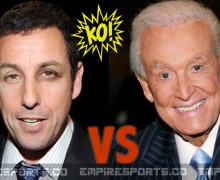 Life-Imitates-Art for Adam Sandler; Has Real Life Scuffle With Bob Barker