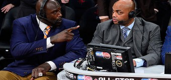 Shaq and Barkley Exchange Words, Set Up School-Yard HORSE Game