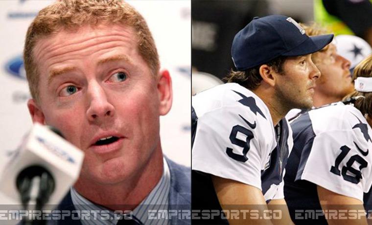 tony romo loses starting spot on cowboys roster empire
