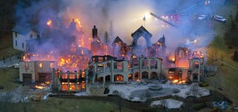 Michael Jordan's $30 Million Mansion Burned Down By LeBron James Extremist