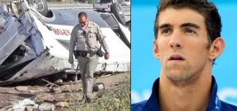 Michael Phelps Breaks Both Legs In Motorcycle Accident