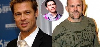 Brad Pitt Agrees To Pay Attacker's Bail If He'll Fight MMA Legend Chuck Liddell