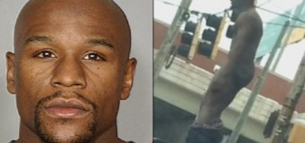Floyd Mayweather Jr Gets Naked Outside Of Washington DC Club