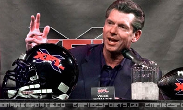 stamford connecticut empire sports vince mcmahon relaunch xfl football xtreme