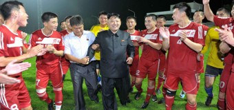 Kim Jong-Un to Play for North Korean Soccer Team in World Cup