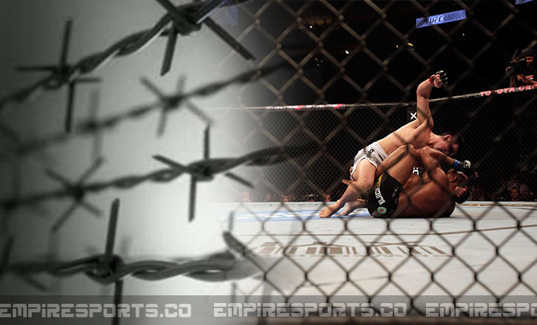 empire-sports-ufc-barb-wire-fence-mma