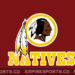 Washington Changes Name From Redskins To Natives